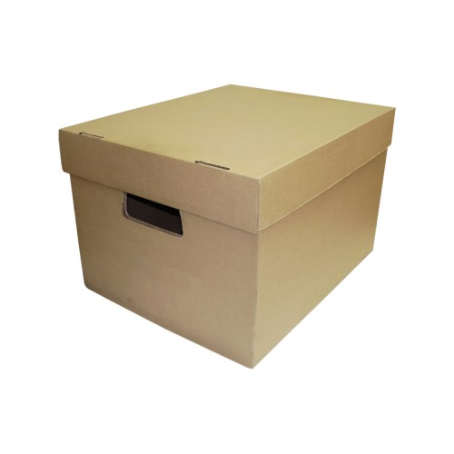 Архивный короб 395*315*270 мм бурый (марка Т-24)