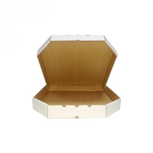 Упаковка под пиццу 330*330*40 мм белая (марка Т-24)