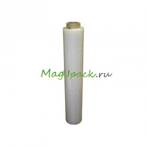 Рулон прозрачной стрейч-пленки 300х0,5 м плотностью 17 Мкм