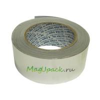 Скотч алюминиевый, 50мм х 10м, плотность 66 г/м2